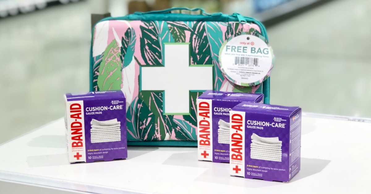 FREE First Aid Bag ($6 Value) w/ Purchase at Target