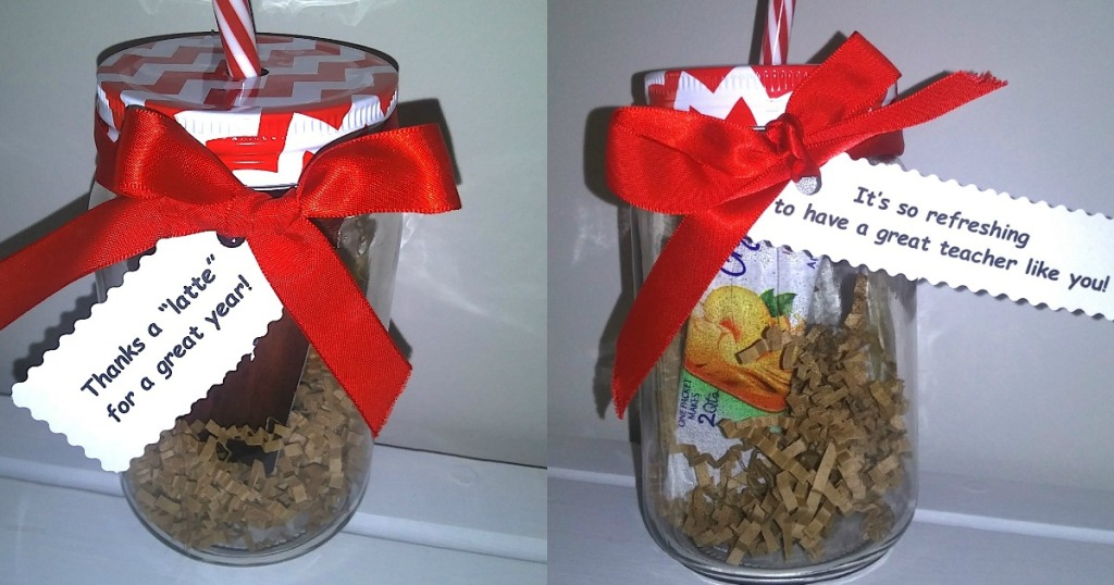 Dollar Tree teacher appreciation gift idea jars