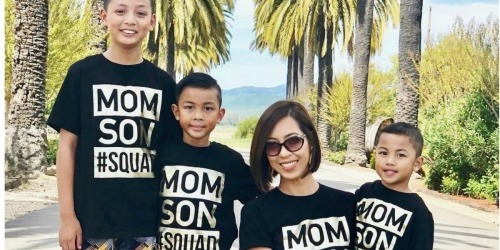 The Children's Place Matching Mom & Kids Tees as Low as $8.84 Shipped for BOTH