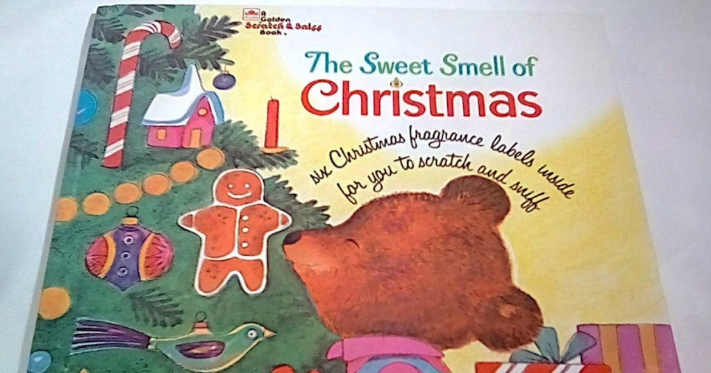 The Sweet Smell of Christmas hardcover book