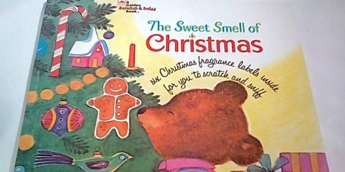 50% Off Scratch & Sniff Children's Books (The Sweet Smell of Christmas & More)