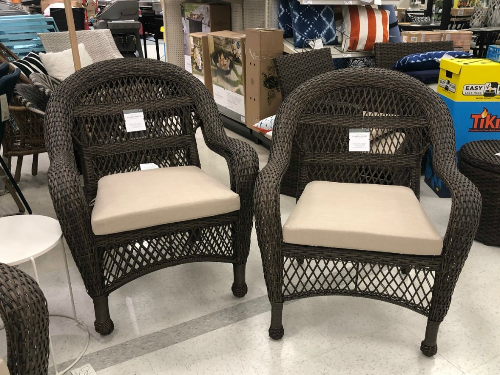 Threshold Stacking Patio Chairs Only