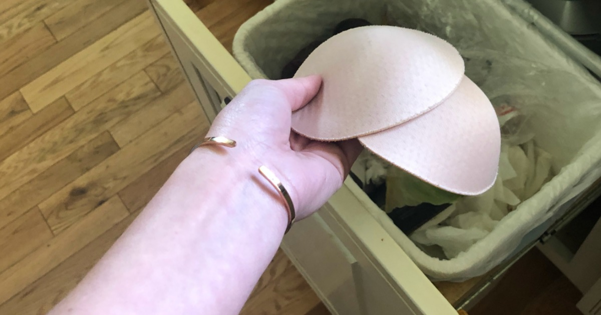 Want to Throw Your Bra Pads in the Trash Because They Won't Stay in Place? (We've Got Solutions)