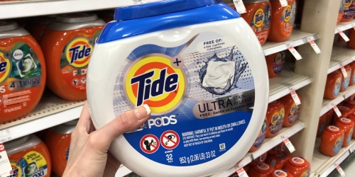 Tide Pods Laundry Detergent Pacs 32-Count as Low as $1.88 Each at Target (Regularly $12)
