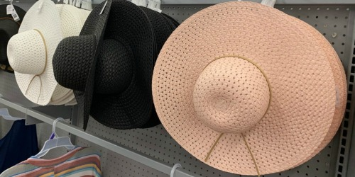 Time and Tru Summer Hats as Low as $4.96 at Walmart (In-Store & Online)