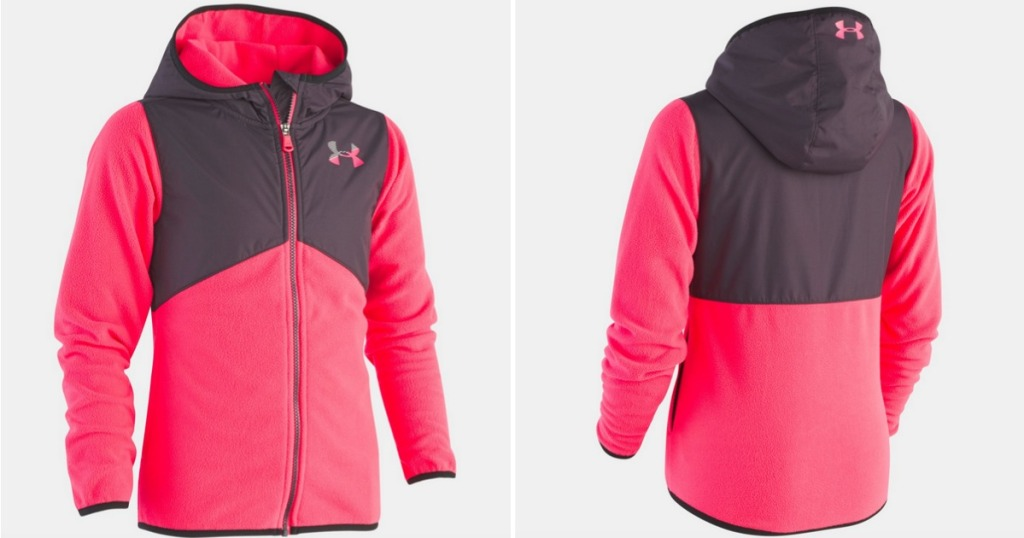 Under Armour Girls Canyon Rim Microfleece