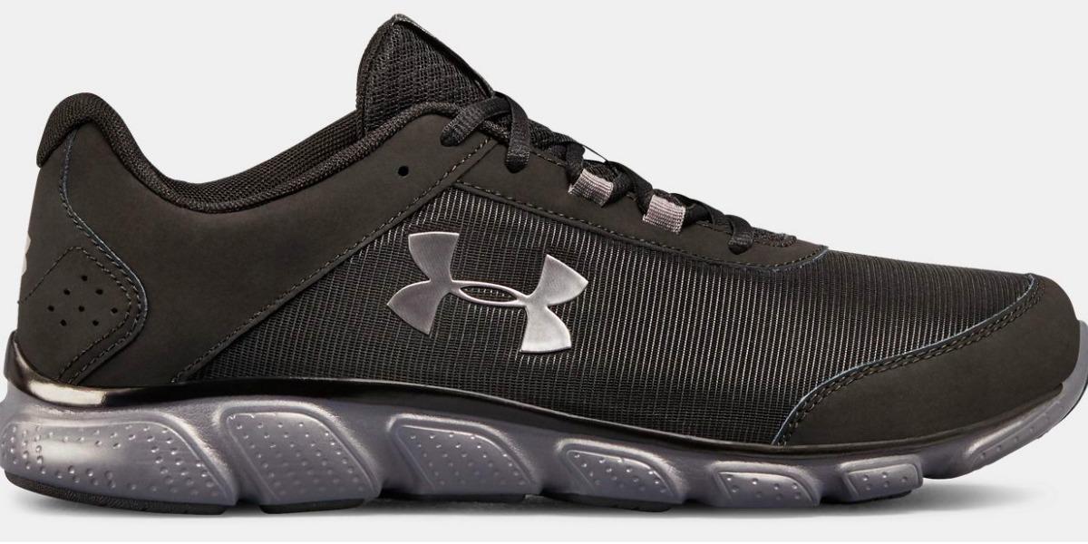 black under armour men's shoes