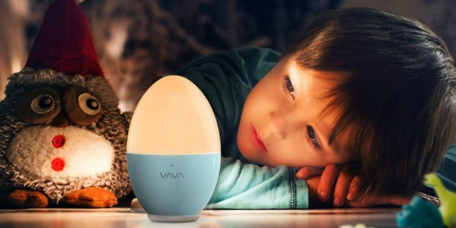 Amazon: VAVA Kids Rechargeable Nightlight Only $11.99 (Awesome Reviews)