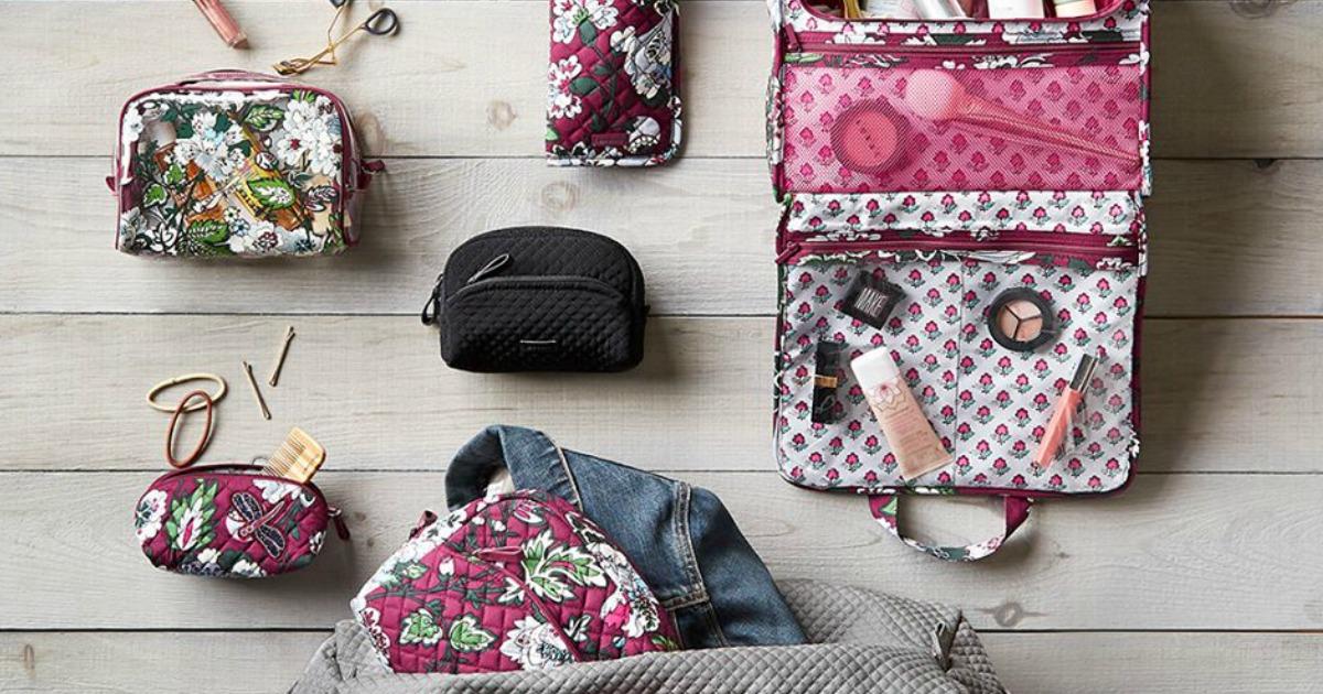 Vera Bradley cosmetic bags