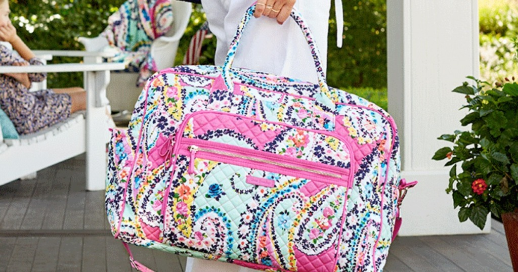 Vera Bradley Large Travel Duffel Only 34 Shipped Regularly