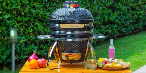 Cadet Kamado Charcoal Grill Only $271.91 Delivered