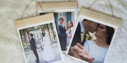 75% Off Wood Hanger Board Photo Prints + Free Store Pickup at Walgreens