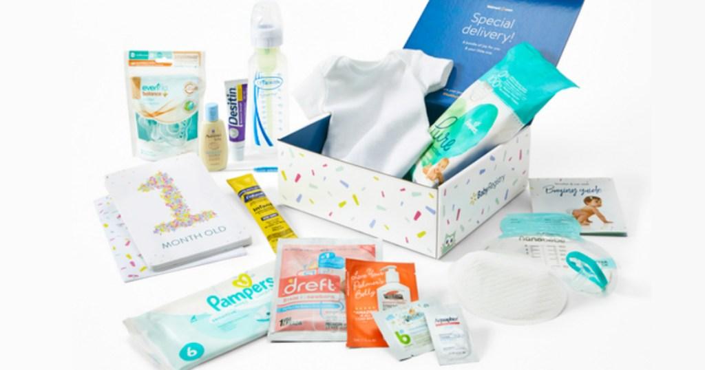 Walmart Baby Registry Box