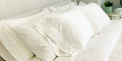 Our Team Loves These Cotton Sheets From Amazon & They're On Sale!