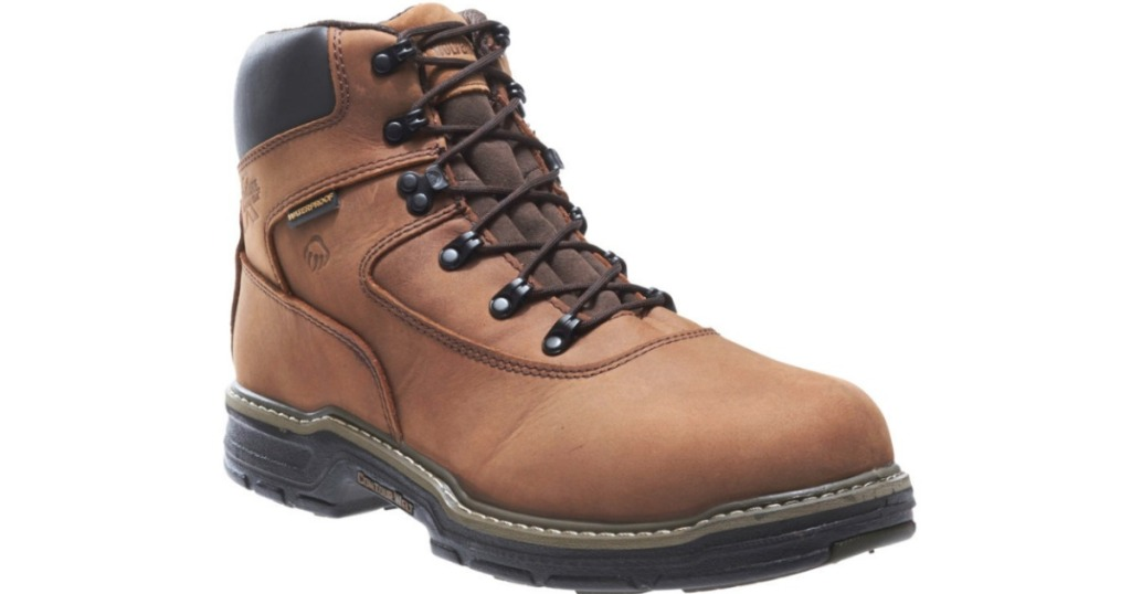 Up To 65% Off Wolverine Men's Work Boots At JCPenney