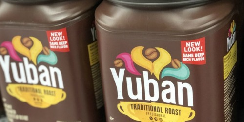 Yuban Coffee 31oz Canister 2-Pack Only $9 Shipped at Amazon