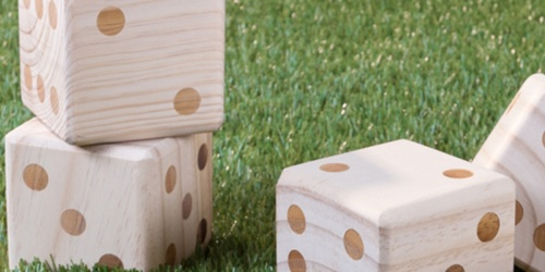 Up to 70% Off Backyard Games (Giant Dice Set, Lawn Bowling & More)