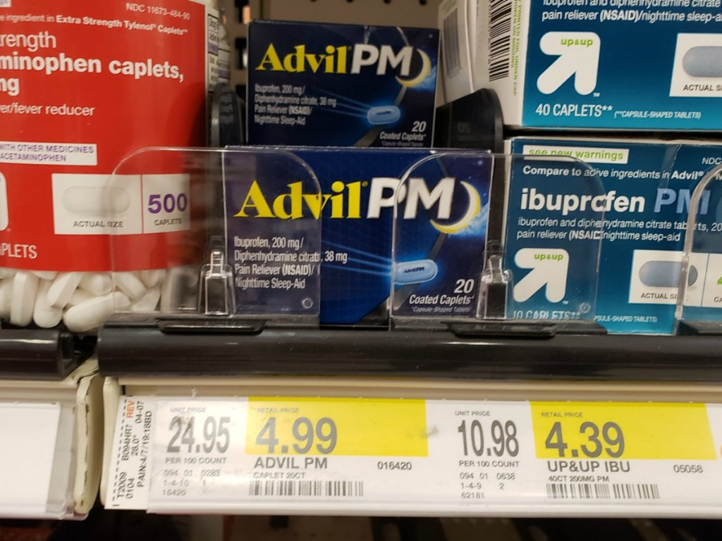 4 Worth Of Advil Coupons Ibuprofen 24 Count Under 2 At Walmart Target Hip2save