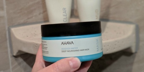 Buy One AHAVA Product, Get One FREE + Free Shipping & 3 Free Samples