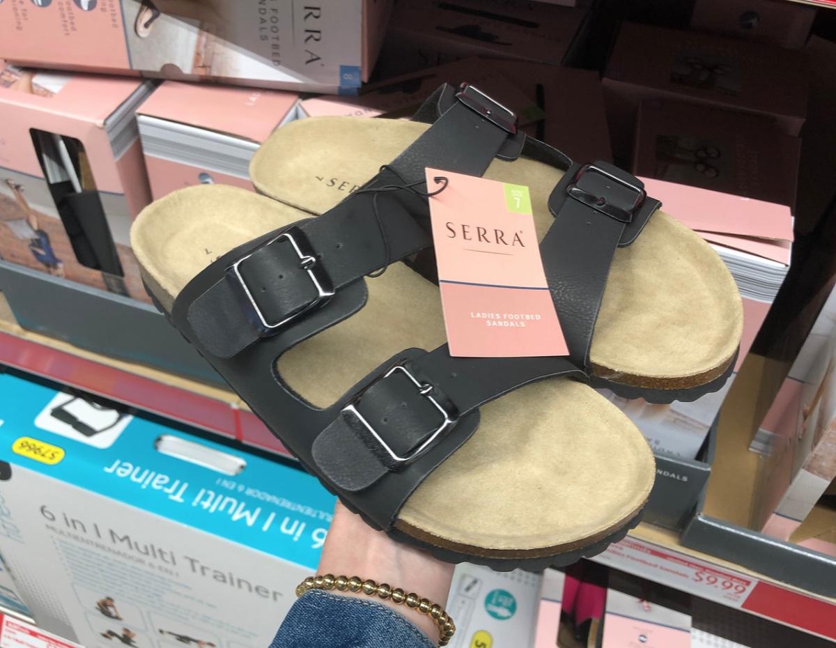 at ALDI (Birkenstock Sandal Look-Alikes