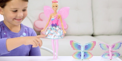 Barbie Dreamtopia Rainbow Cove Flying Wings Fairy Doll Only $8 (Regularly $21) + More