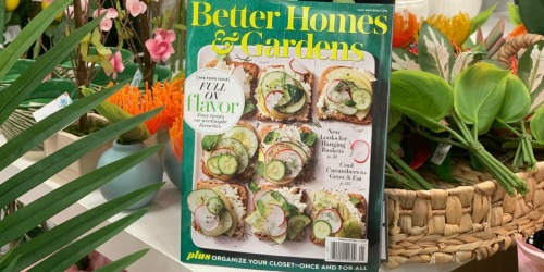 FREE 2-Year Better Homes & Gardens Magazine Subscription