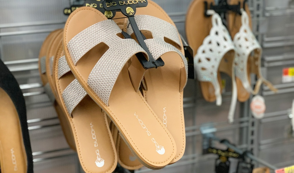 walmart shoes — light tan flat sandals