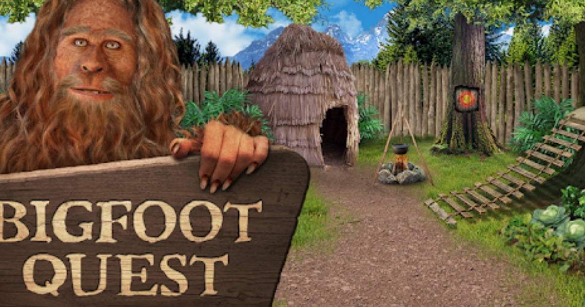 FREE Bigfoot Quest Game (iOS & Android)