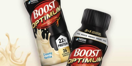 Boost Optimum Nutritional Drink 16-Count Just $19 Shipped (Only $1.19 Each)