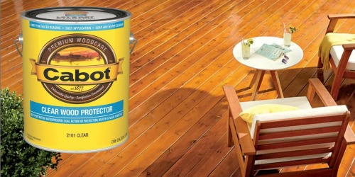 Buy One Cabot Stain, Get One FREE After Lowe's Mail-In Rebate