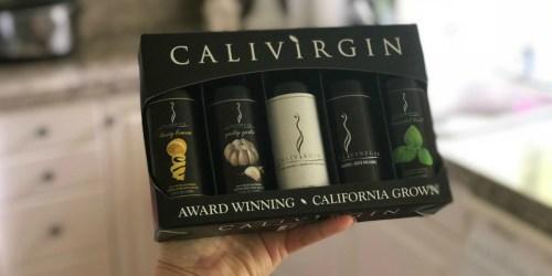 Calivirgin Olive Oil & Balsamic 5-Piece Bottle Sampler Set Only $18.99 Shipped (Regularly $40)