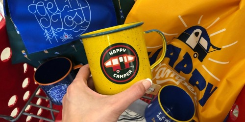 Fun Camping-Themed Items Under $5 at Target (Mugs, Nightlights & More)