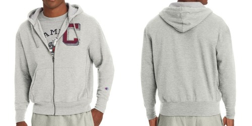 Champion Men's Fleece Zip Hoodie Only $9.58 Shipped (Regularly $55)
