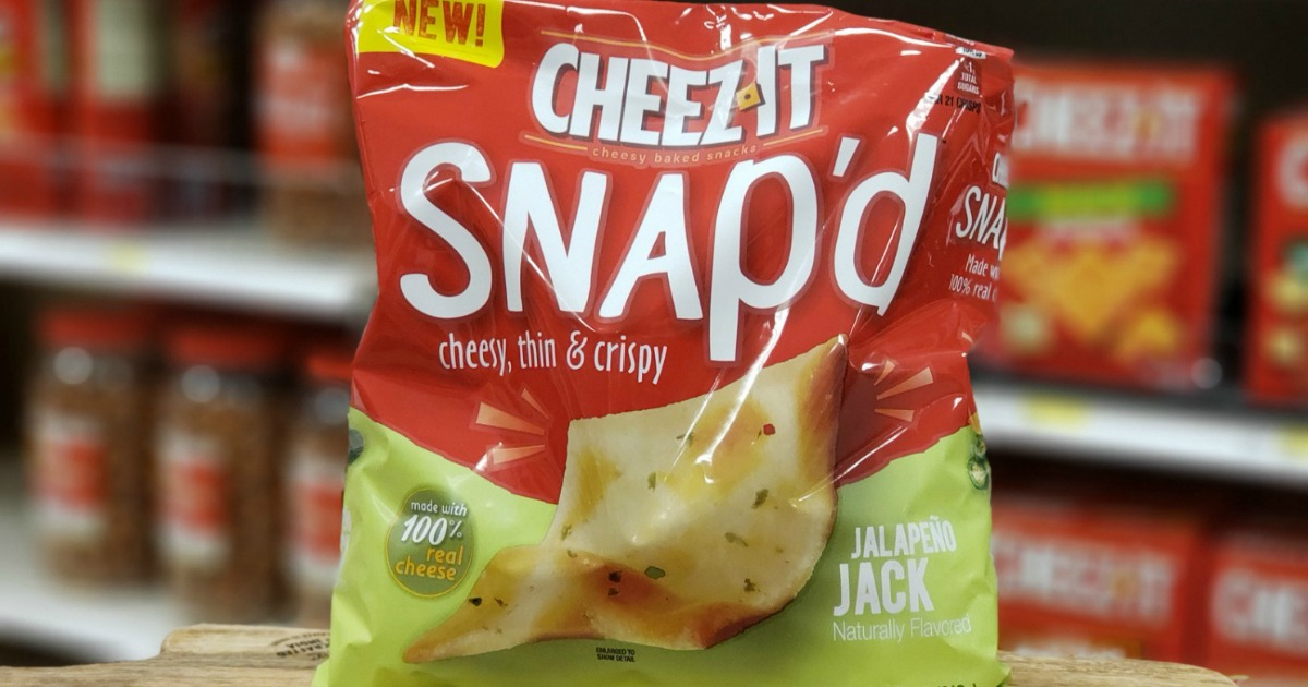 photograph regarding Cheez It Coupon Printable named Refreshing $0.75/1 Cheez-It Snapd Coupon \u003d Just $1.89 When Hard cash