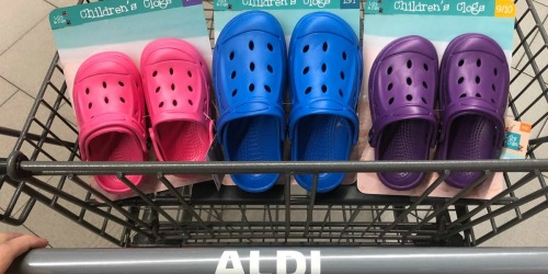 Fun Summer Kids Items at ALDI (Clogs, Gardening Set, & More)