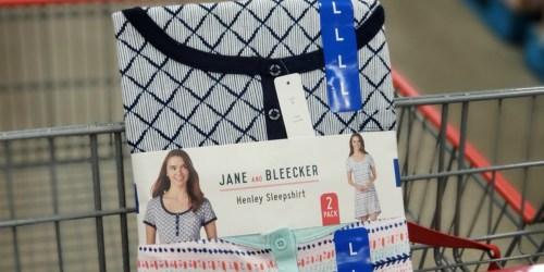 Jane and Bleecker Women's Henley Sleepshirt 2-Pack Just $4.97 at Costco