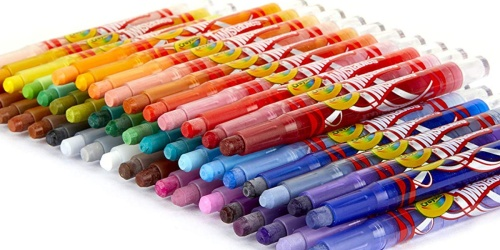 Crayola Mini Twistables Crayons 50-Pack Only $7.43 at Amazon