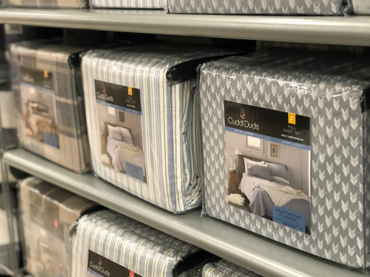Cuddl Duds Flannel Sheet Sets As Low As $5.59 At Kohl's