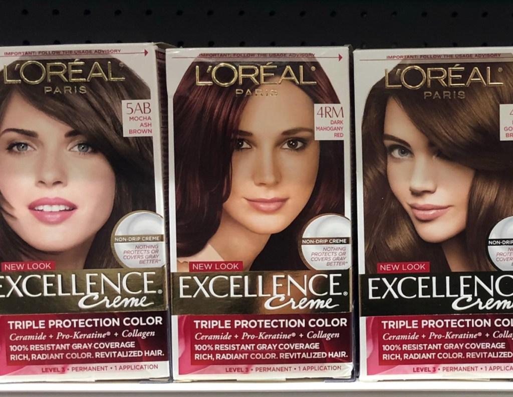 hair color on shelf