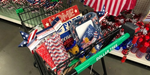 Dollar Tree Patriotic Items Only $1 (Decor, Utensils & More)