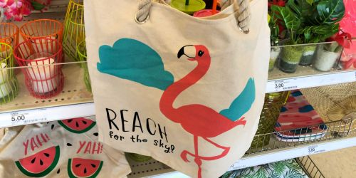 Cute Beach Totes Just $3 at Target + More