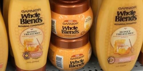 FREE Garnier Whole Blends Honey Treasures Hair Mask Sample