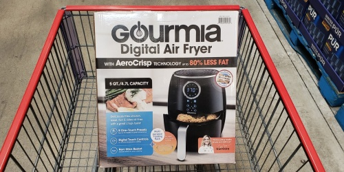 Gourmia 5-Quart Digital Air Fryer Only $39.99 at Costco (In-Store Only)