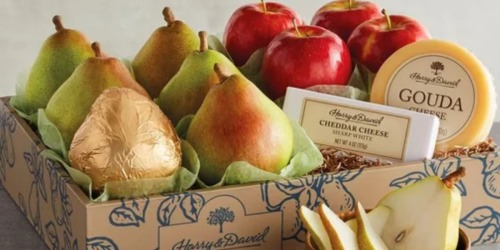 Harry & David Pears, Apples & Cheese Gift Set Only $29.99 Shipped (Mother's Day Delivery Guaranteed)