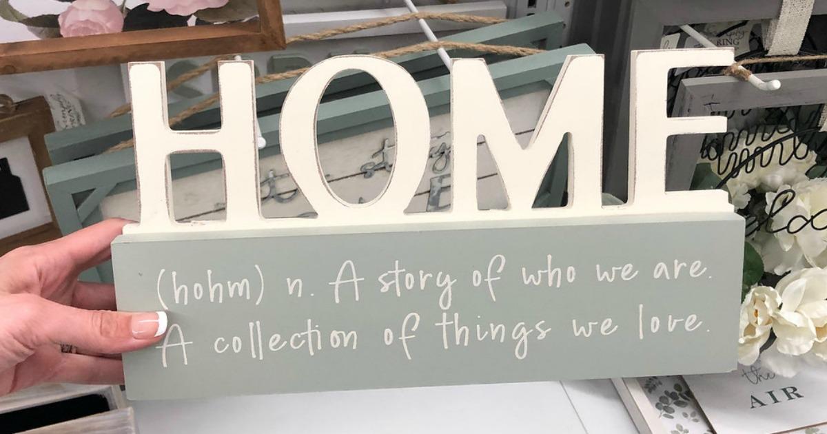 decorative home sign