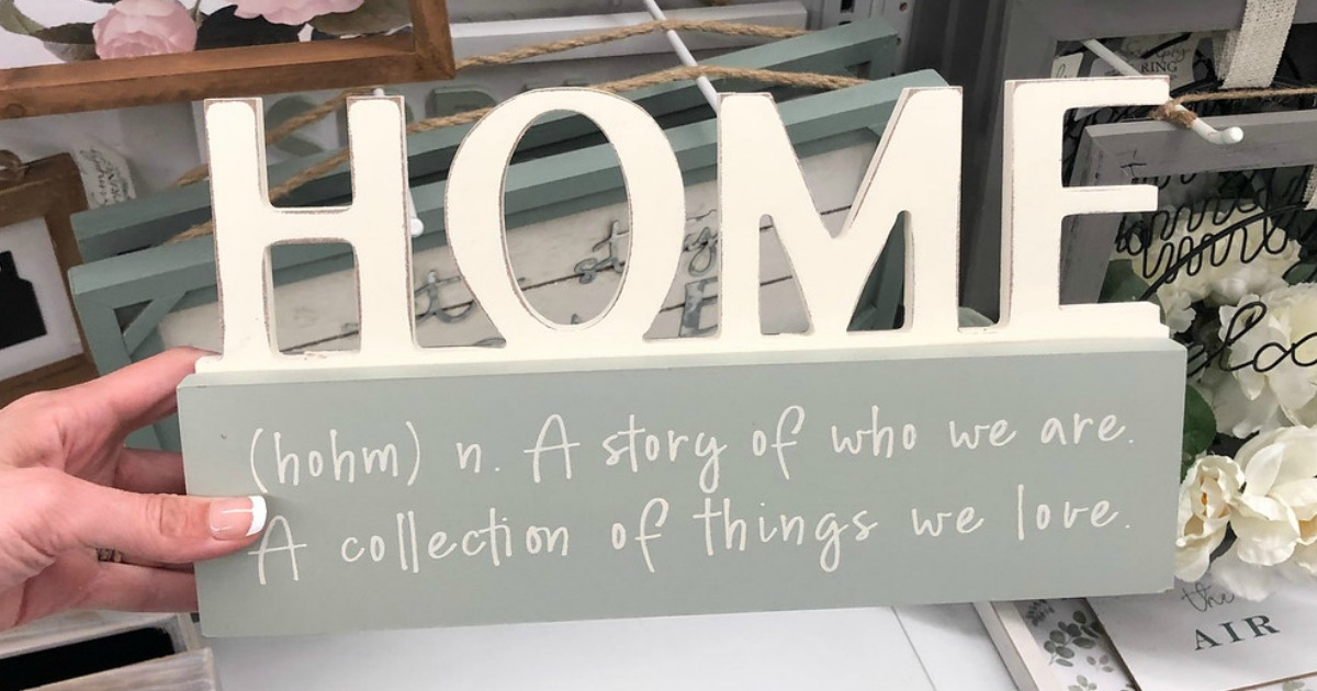 decorative home sign