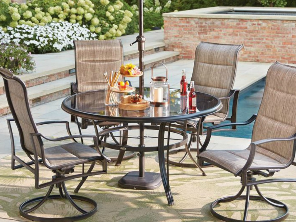 Statesville Patio Furniture.Home Depot Up To 50 Off Patio Furniture Free Shipping Hip2save