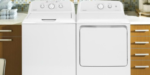 Up to 40% Off Select Washers & Dryers + Free Delivery at Home Depot