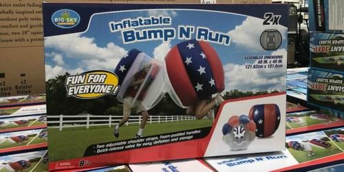 Inflatable Bump N' Run Set Just $39.98 at Sam's Club