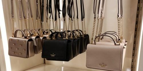Up to 75% Off Kate Spade Handbags, Totes & More + Free Shipping